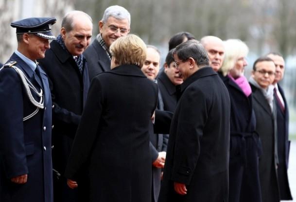 Başbakan Ahmet Davutoğlu Almanya'da 8