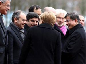 Başbakan Ahmet Davutoğlu Almanya'da