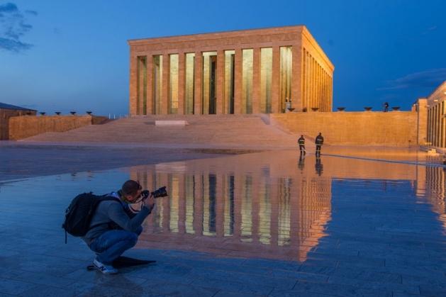 Anıtkabir'den muhteşem kareler 11
