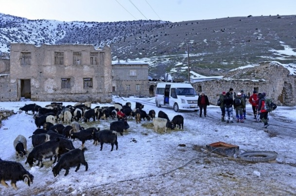 Çözüm süreciyle dağlara kışın da tırmanıyorlar 11