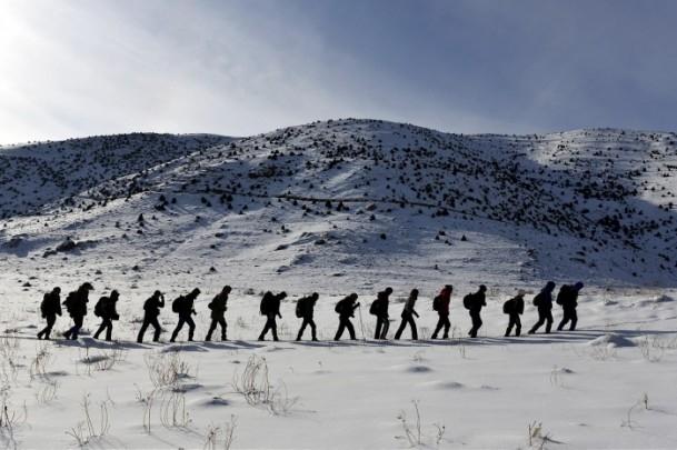 Çözüm süreciyle dağlara kışın da tırmanıyorlar 9