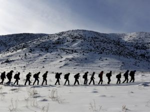 Çözüm süreciyle dağlara kışın da tırmanıyorlar
