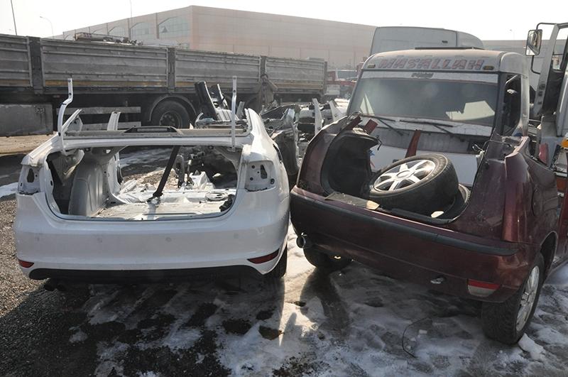 Son model araçları parçalayıp satmışlar 5