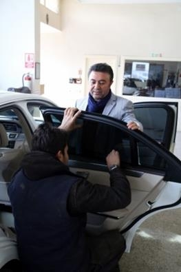 Katar'ın VIP araçlarının iç dizaynı Çorum'da yapılıyor 3