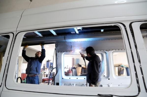 Katar'ın VIP araçlarının iç dizaynı Çorum'da yapılıyor 4