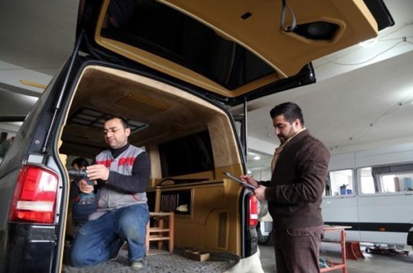 Katar'ın VIP araçlarının iç dizaynı Çorum'da yapılıyor 5