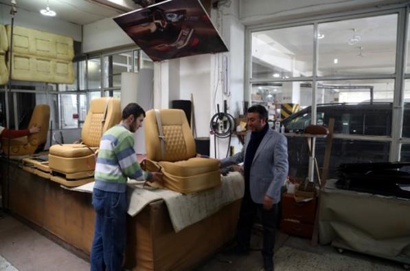 Katar'ın VIP araçlarının iç dizaynı Çorum'da yapılıyor 7