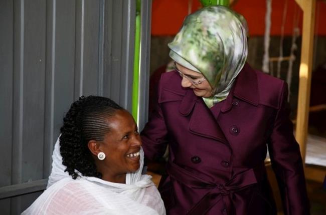 Emine Erdoğan Etiyopya'da 10
