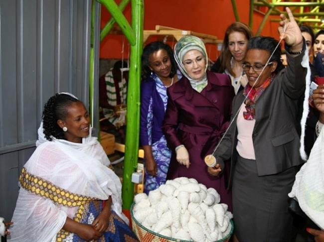 Emine Erdoğan Etiyopya'da 12