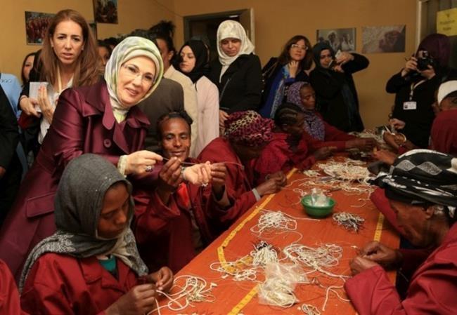 Emine Erdoğan Etiyopya'da 13