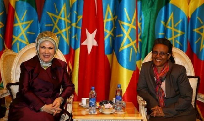 Emine Erdoğan Etiyopya'da 7