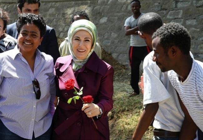Emine Erdoğan Etiyopya'da 8