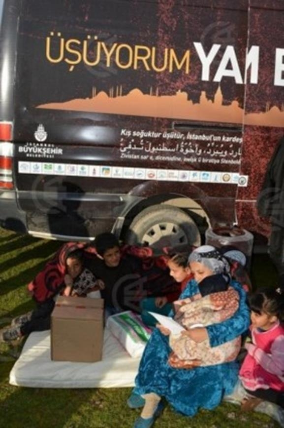 İstanbul'un sıcak eli günde 15 bin sığınmacıya ulaşıyor 7