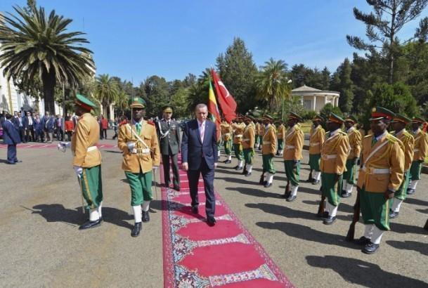 Cumhurbaşkanı Erdoğan Etiyopya'da 1