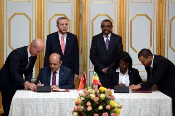 Cumhurbaşkanı Erdoğan Etiyopya'da 11