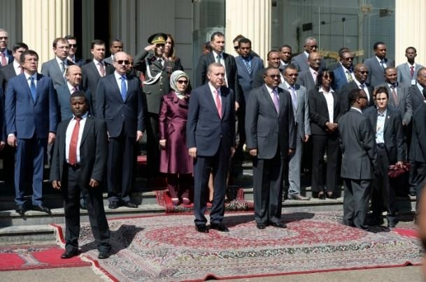 Cumhurbaşkanı Erdoğan Etiyopya'da 2