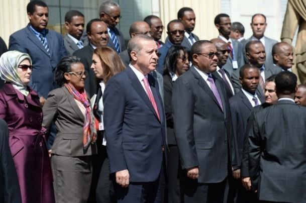 Cumhurbaşkanı Erdoğan Etiyopya'da 3