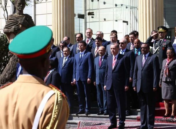 Cumhurbaşkanı Erdoğan Etiyopya'da 5