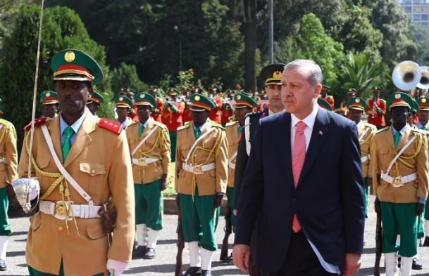 Cumhurbaşkanı Erdoğan Etiyopya'da 6