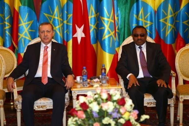 Cumhurbaşkanı Erdoğan Etiyopya'da 7