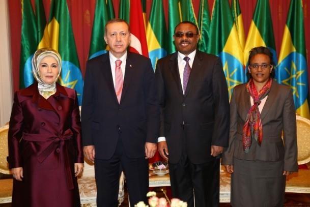 Cumhurbaşkanı Erdoğan Etiyopya'da 8