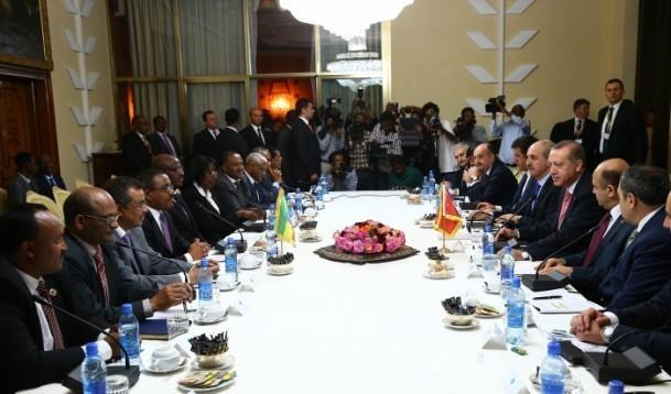 Cumhurbaşkanı Erdoğan Etiyopya'da 9