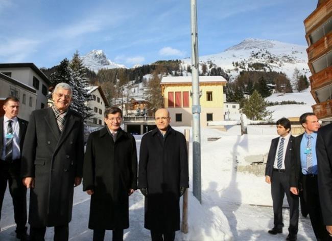 Başbakan Davutoğlu Davos'ta 1