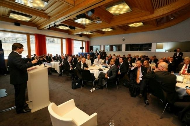Başbakan Davutoğlu Davos'ta 5