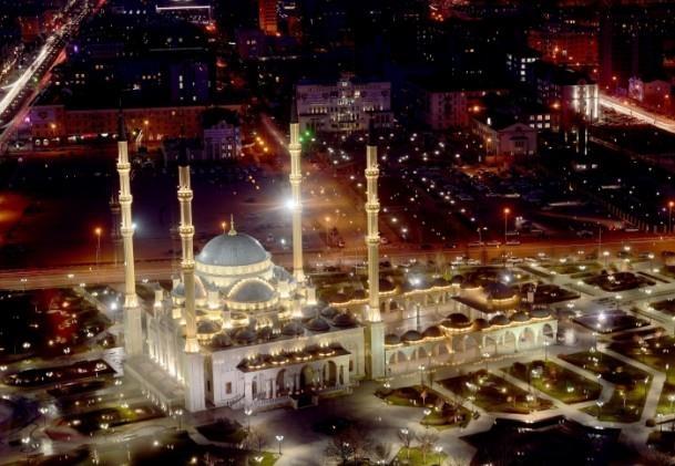 Kafkasya'nın kalbi Grozni'nin çehresi değişiyor 5