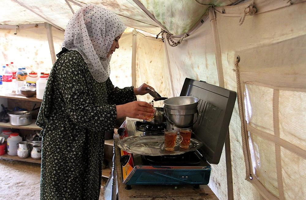 Gazze'de evsiz ailelerin yaşam mücadelesi 1