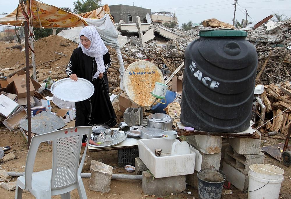 Gazze'de evsiz ailelerin yaşam mücadelesi 11