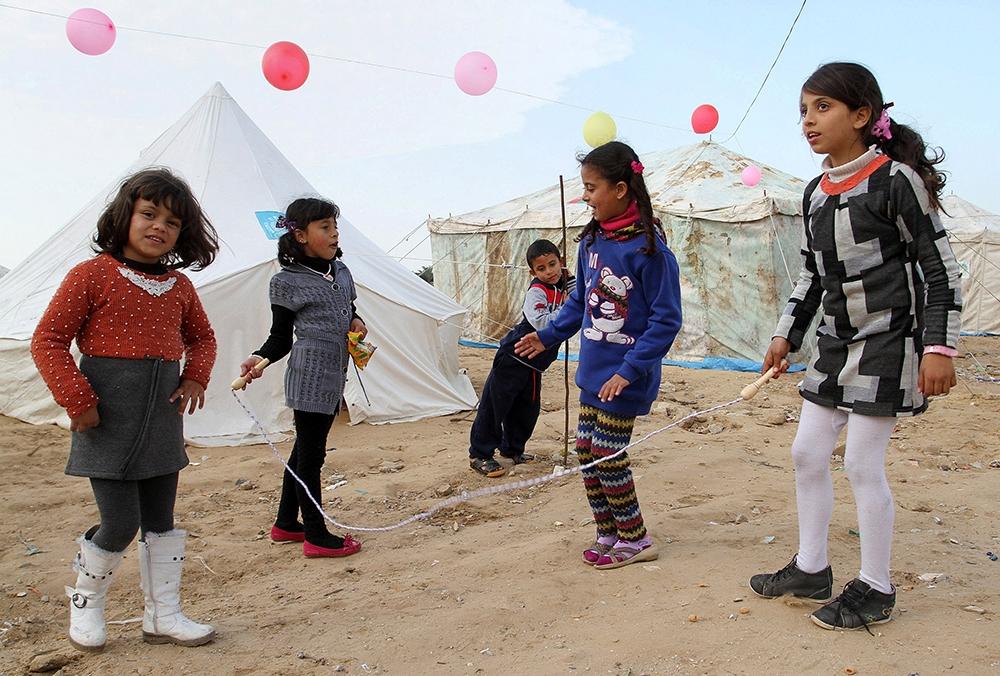Gazze'de evsiz ailelerin yaşam mücadelesi 12