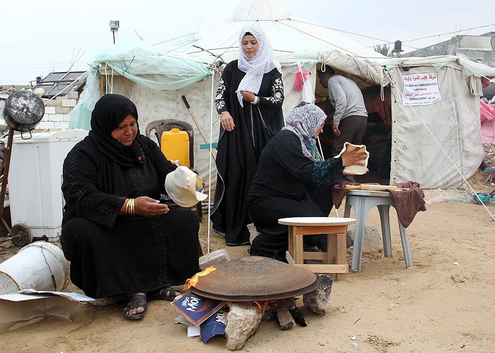 Gazze'de evsiz ailelerin yaşam mücadelesi 2