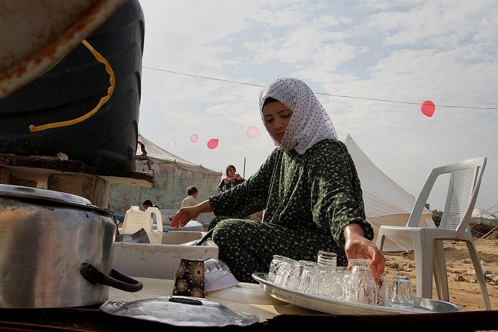 Gazze'de evsiz ailelerin yaşam mücadelesi 3
