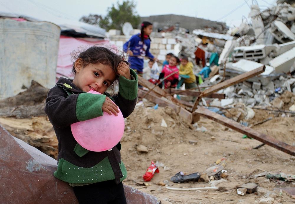Gazze'de evsiz ailelerin yaşam mücadelesi 4