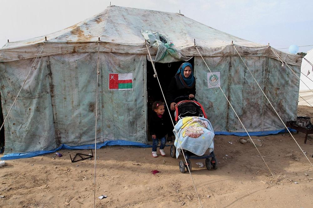 Gazze'de evsiz ailelerin yaşam mücadelesi 5
