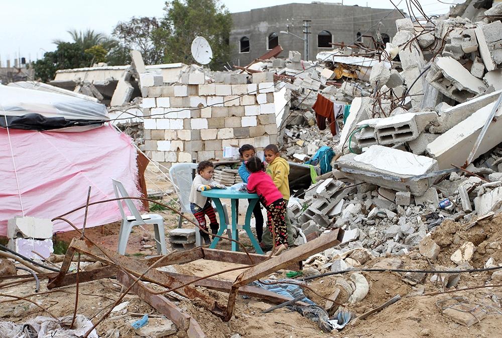 Gazze'de evsiz ailelerin yaşam mücadelesi 6