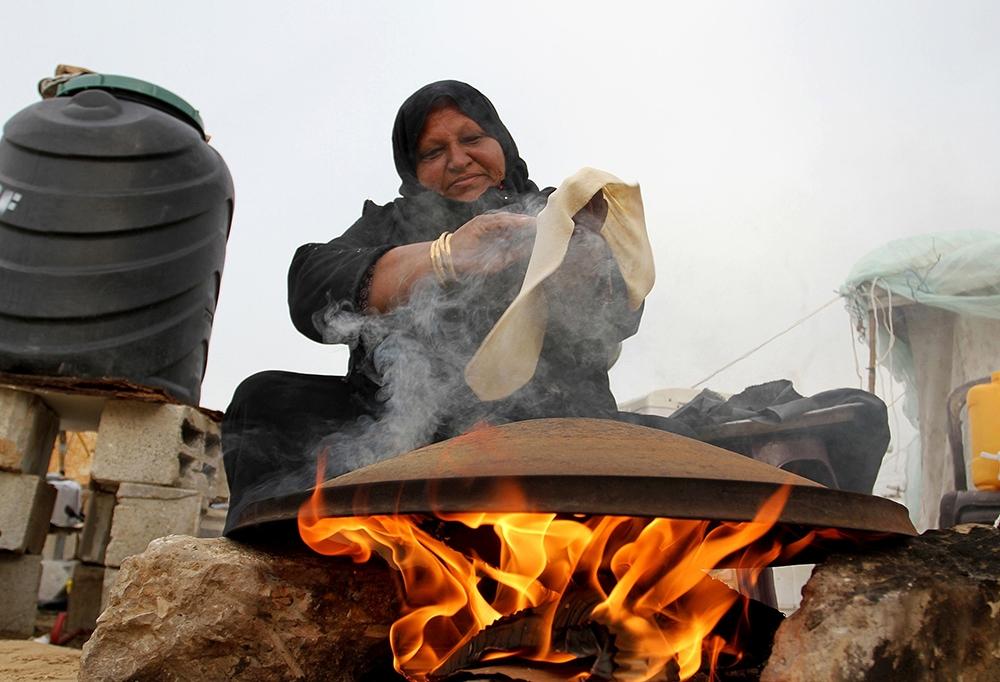 Gazze'de evsiz ailelerin yaşam mücadelesi 8