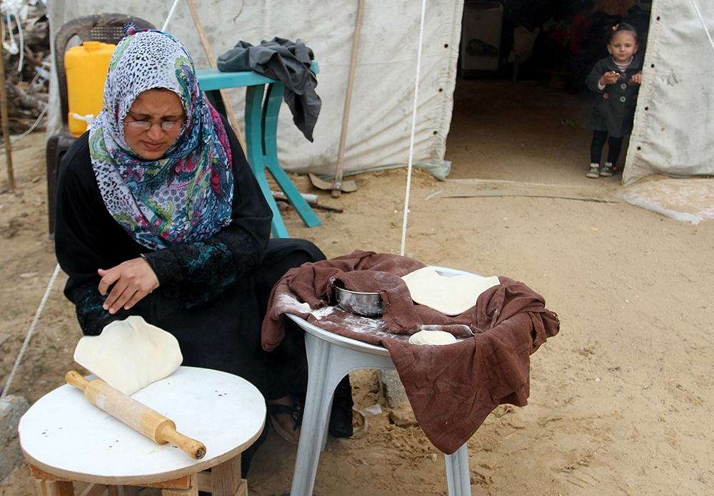 Gazze'de evsiz ailelerin yaşam mücadelesi 9