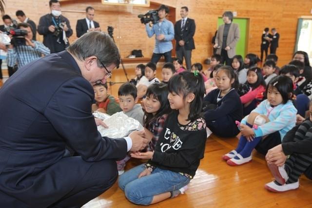 DAVUTOĞLU'NA JAPONYA'DA BÜYÜK İLGİ 12
