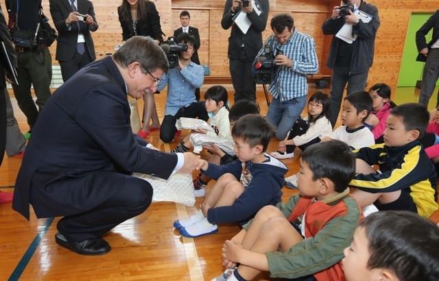 DAVUTOĞLU'NA JAPONYA'DA BÜYÜK İLGİ 17