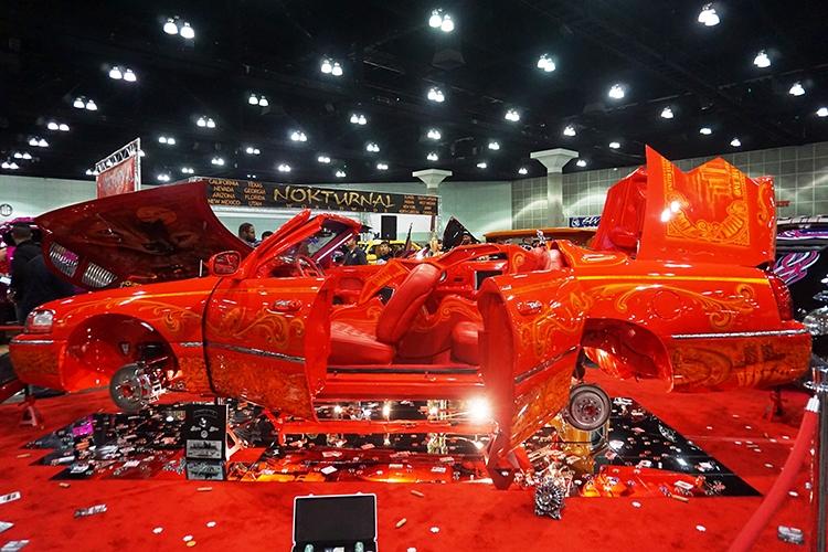 ABD'de modifiye araç fuarı 24