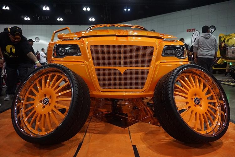 ABD'de modifiye araç fuarı 42