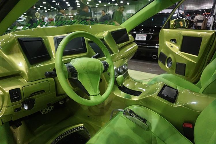 ABD'de modifiye araç fuarı 70