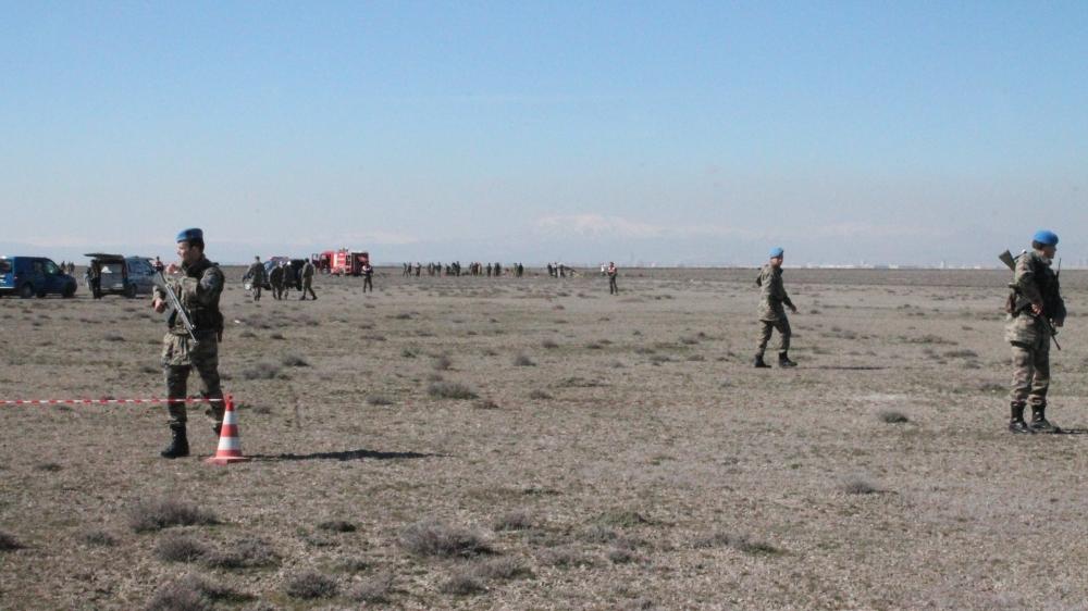 Konya'da Eğitim Uçağı Düştü: 2 Pilot Şehit 1