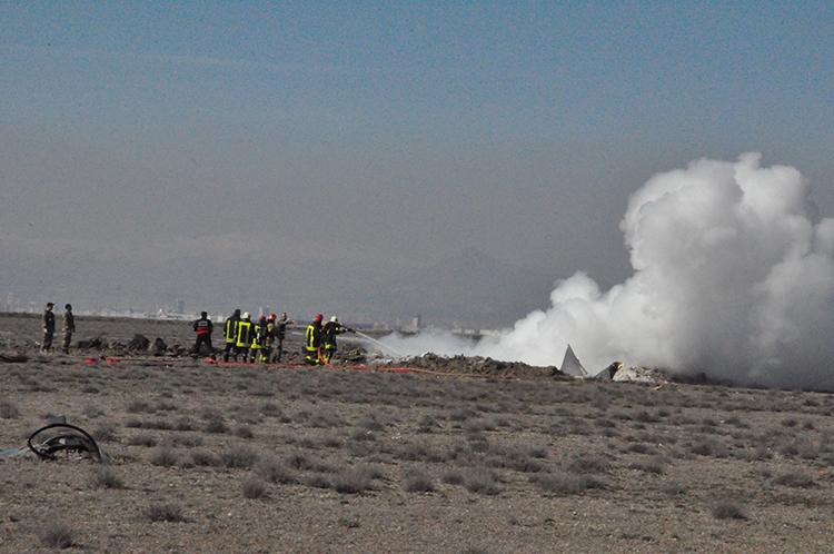 Konya'da Eğitim Uçağı Düştü: 2 Pilot Şehit 10