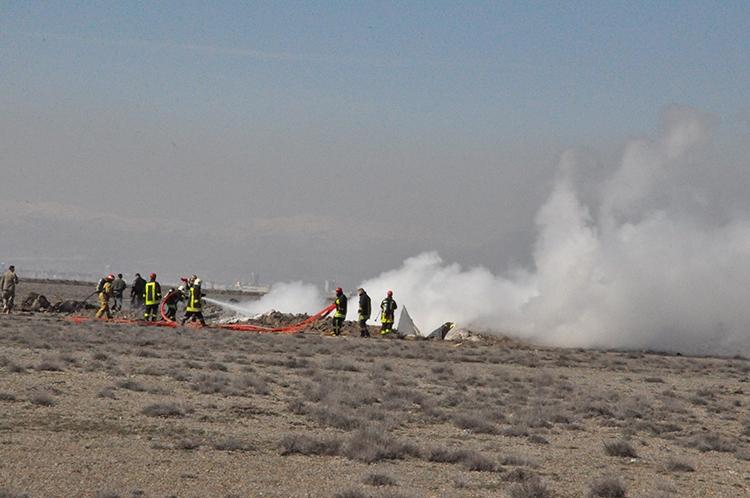 Konya'da Eğitim Uçağı Düştü: 2 Pilot Şehit 11