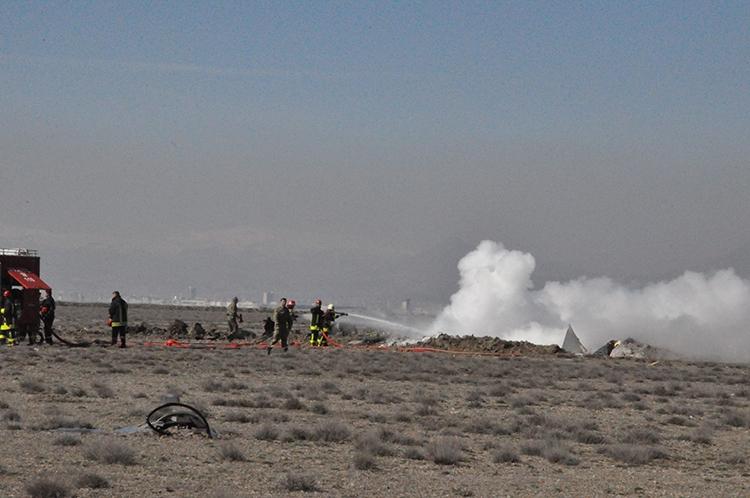 Konya'da Eğitim Uçağı Düştü: 2 Pilot Şehit 13