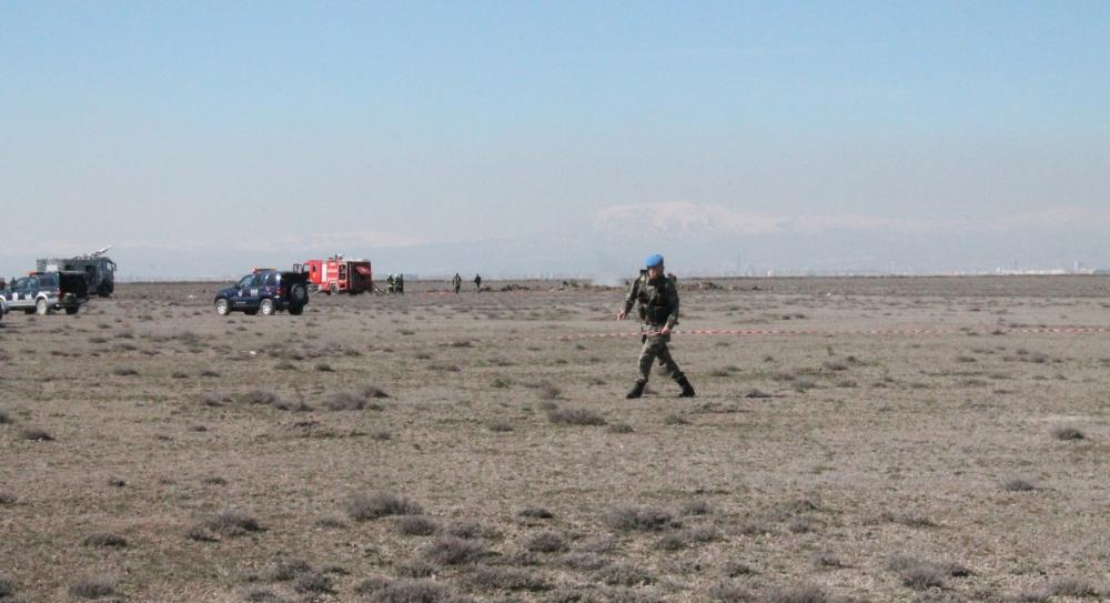 Konya'da Eğitim Uçağı Düştü: 2 Pilot Şehit 3