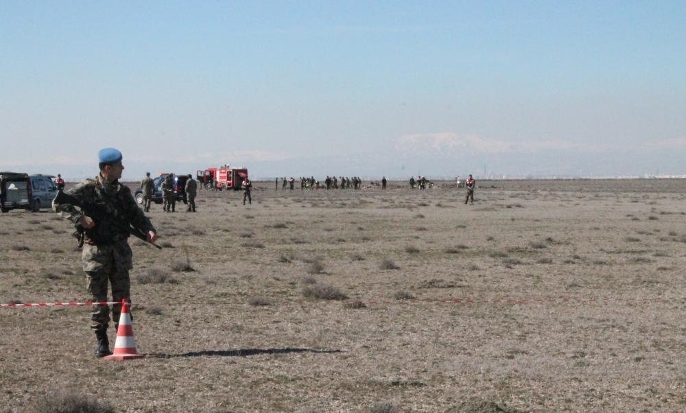 Konya'da Eğitim Uçağı Düştü: 2 Pilot Şehit 7
